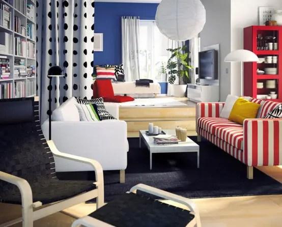 ikea small living room ideas IKEA Living Room Design Ideas 2010 - DigsDigs