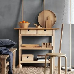 Coffee Decor For Kitchen Cabinet Glass Inserts 19 Ikea FÖrhÖja Cart Storage And Display Ideas Every ...