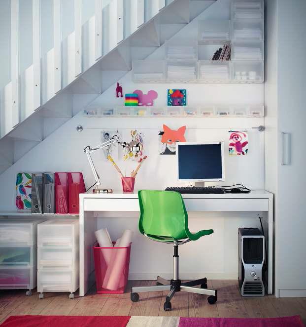 IKEA Workspace Organization Ideas 2013  DigsDigs