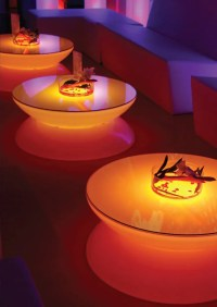 Translucent LED Light Tables - Lounge from Moree - DigsDigs