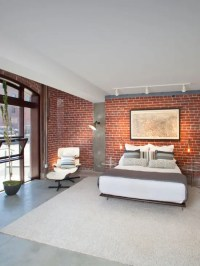 65 Impressive Bedrooms With Brick Walls - DigsDigs