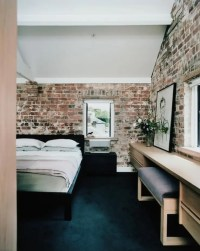 65 Impressive Bedrooms With Brick Walls | DigsDigs
