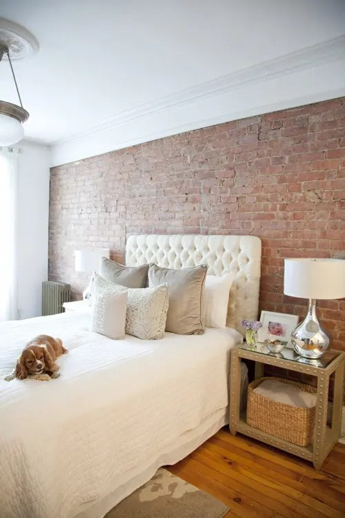 65 Impressive Bedrooms With Brick Walls Digsdigs