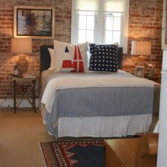 Basement Living Rooms Room Pillows 65 Impressive Bedrooms With Brick Walls - Digsdigs