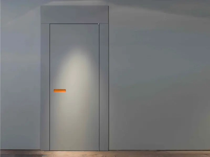 Innovative Interior Wooden Doors with NoHandle Opening System  DigsDigs