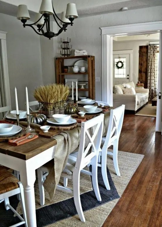 33 Inviting And Cute Vintage Dining Rooms And Zones  DigsDigs