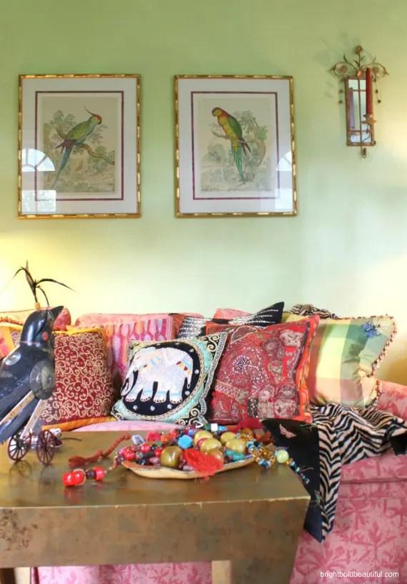 51 Inspiring Bohemian Living Room Designs DigsDigs