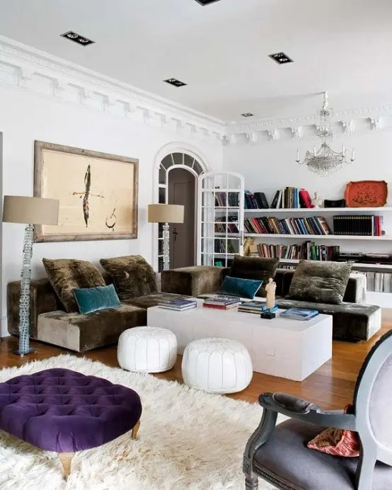 bohemian style living room zen rooms 85 inspiring designs digsdigs long open shelves are perfect to display items that looks like they were found while traveling