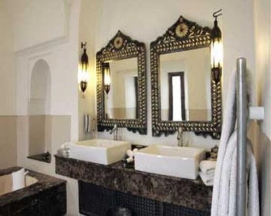 Eastern Luxury 48 Inspiring Moroccan Bathroom Design