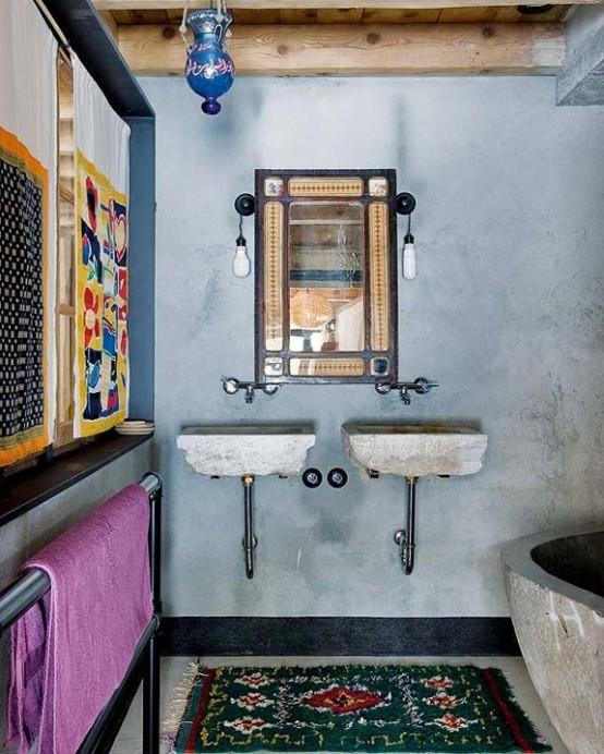 61 Inspiring Moroccan Bathroom Design Ideas DigsDigs