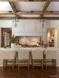 36 Inviting Kitchen Designs With Exposed Wooden Beams ...