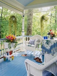 36 Joyful Summer Porch Dcor Ideas - DigsDigs