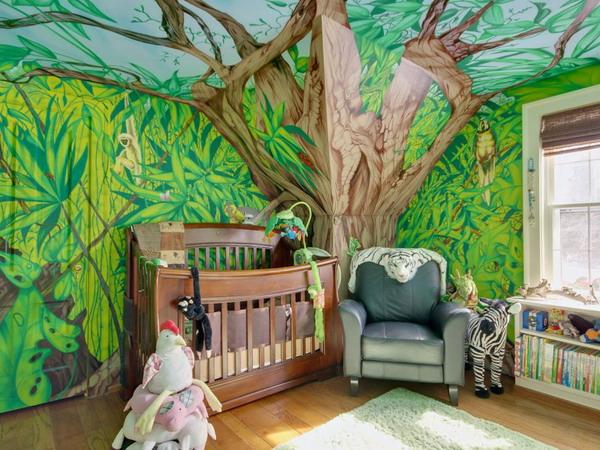 25 Cool JungleInspired Kids Room Designs  DigsDigs