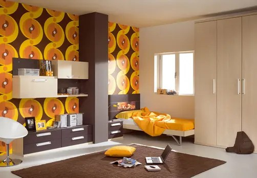 Kids Room Decor Brown