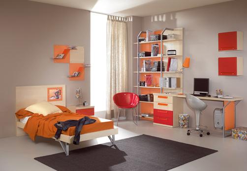 Kids Room Decor Orange