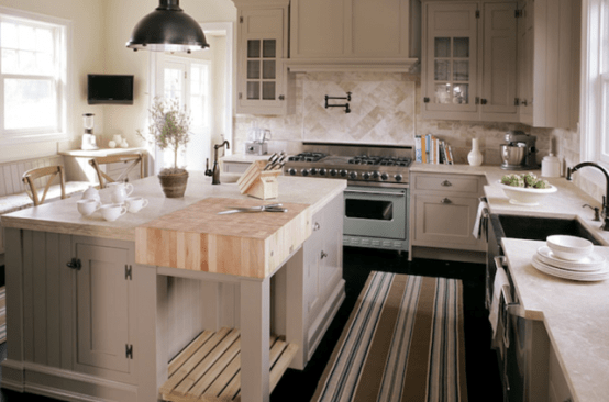 kitchen islands ideas island with marble top 125 awesome design digsdigs you can make a permanent cooking board on your natural wood is perfect