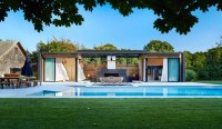 Luxurious Indoor And Outdoor Oasis: Pool House By ICRAVE ...