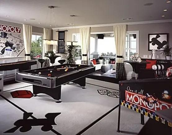 77 Masculine Game Room Design Ideas  DigsDigs