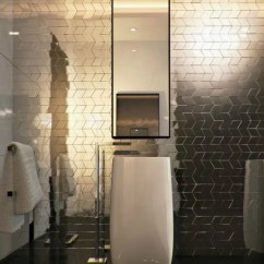 Metal Wall Tiles For Kitchen Counter Lighting The Hottest Décor Trend: 27 Metallic Tile Ideas ...