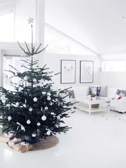 Modern Christmas Tree Decor Ideas