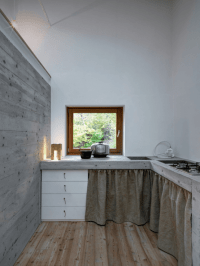 Minimalist Cabin Covered With Stone From Ruins - DigsDigs