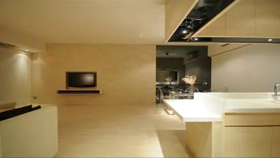 Minimalist Yet Comfortable Apartment Interior Design In