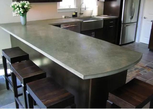 39 Minimalist Concrete Kitchen Countertop Ideas  DigsDigs