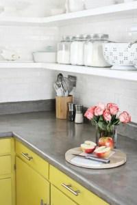 39 Minimalist Concrete Kitchen Countertop Ideas - DigsDigs
