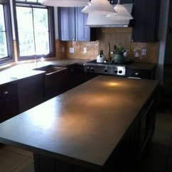 Diy Kitchen Countertops Design Ideas Images 39 Minimalist Concrete Countertop - Digsdigs