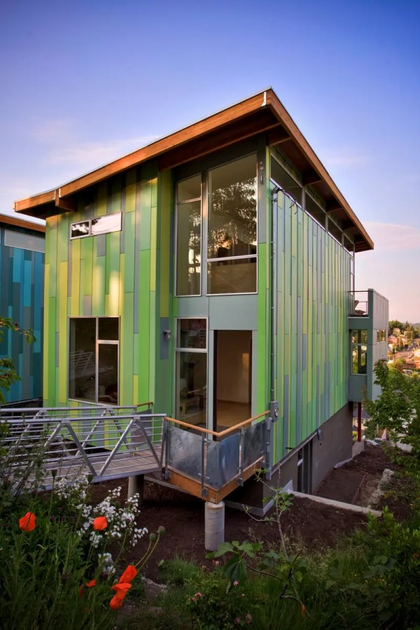 Modern Affordable Eco-friendly Home Case Architects