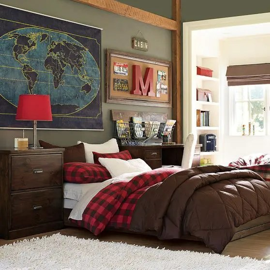 teen boys bedroom decor ideas 36 Modern And Stylish Teen Boys' Room Designs | DigsDigs