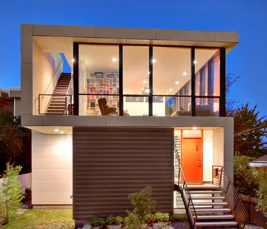 Modern House Design On Small Site Witin A Tight Budget  Crockett Residence  DigsDigs
