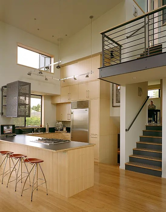 Modern Remodel Of The Post War Split Level House Into A Five Level House  DigsDigs