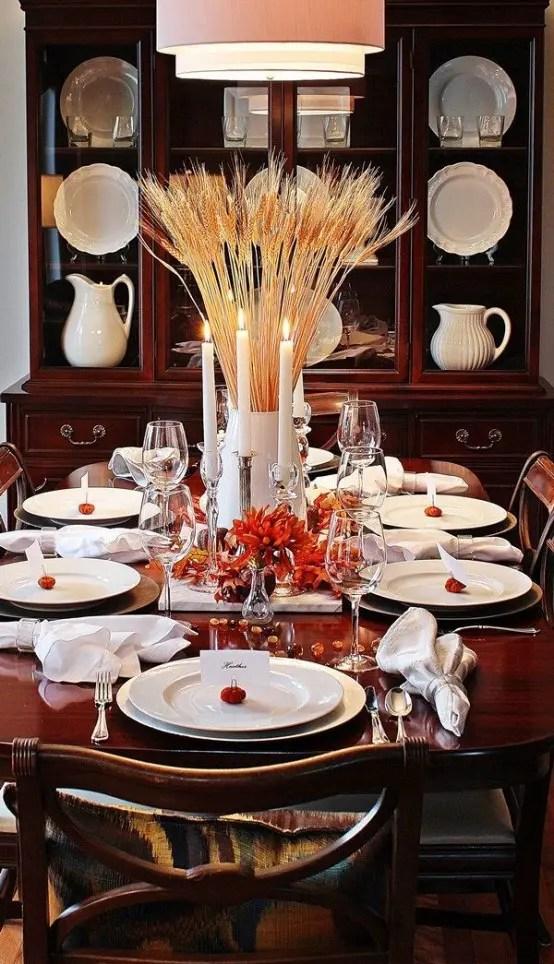 24 Modern Yet Stylish Thanksgiving D 233 Cor Ideas Digsdigs