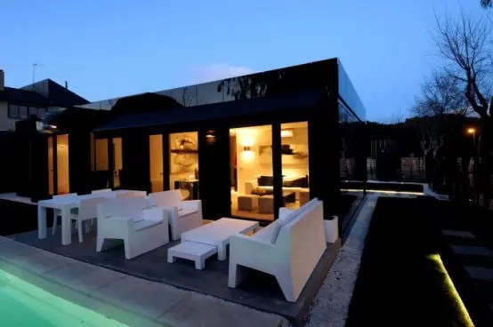 Modular Glossy Black Houses By A Cero Digsdigs