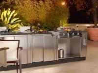 Modular Outdoor Kitchens - KitChen Q from Bianchi - DigsDigs