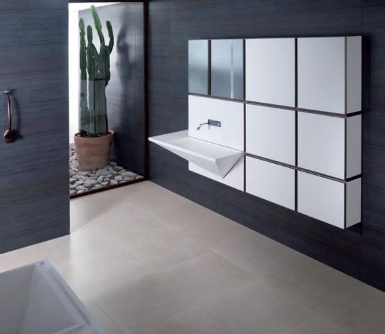 Mondart Cubism Inspired Bathroom Collection
