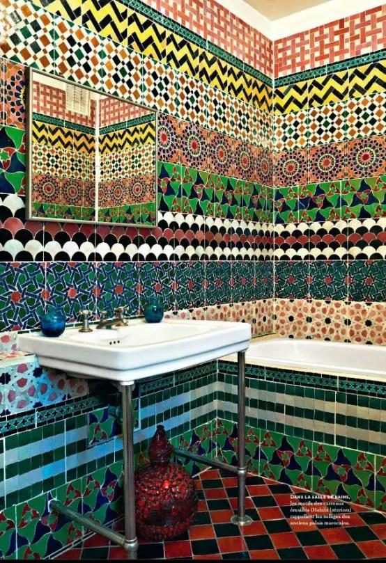 31 Multi Color Tiled Bathroom Designs DigsDigs