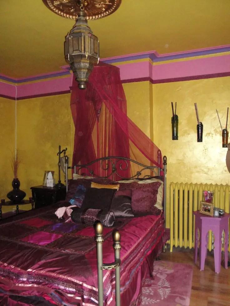 66 Mysterious Moroccan Bedroom Designs DigsDigs