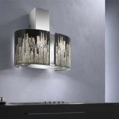 Bright Kitchen Light Fixtures Round Islands Murano Modern Range Hoods By Futuro - Digsdigs