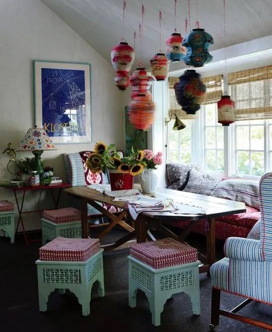 living room ideas pinterest theater portland 39 original boho chic dining designs - digsdigs