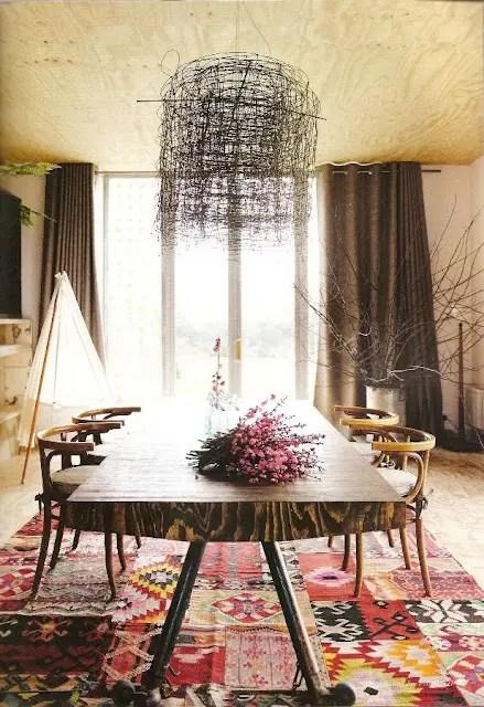 39 Original Boho Chic Dining Room Designs Digsdigs