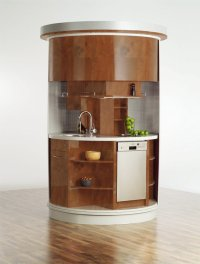 Very Small Kitchen Which Has Everything Needed - Circle ...