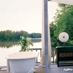 Hanging Chairs Ikea Pink Rolling Chair 45 Outdoor Bathroom Designs That You Gonna Love - Digsdigs