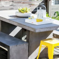 Ikea Stool Chairs Upholster A Chair Outdoor Décor Trend: 26 Concrete Furniture Pieces For Your Backyard - Digsdigs