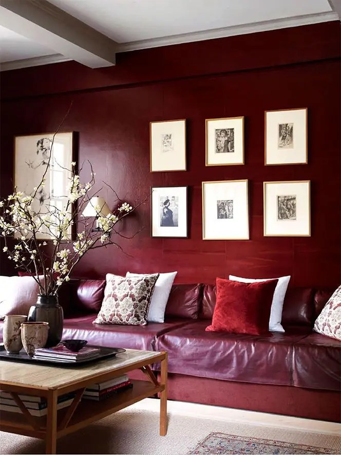 Below are 25 best pictures collection of black red white bedroom ideas photo in high resolution. Pantone's 2015 Color Of the Year: 30 Marsala Décor Ideas