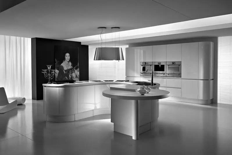 Round White Kitchen Table