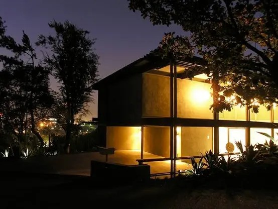Post Modern House Design on Hollywood Hills  DigsDigs