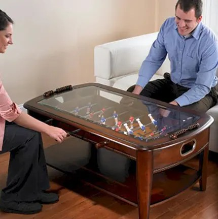 Dining and Coffee Tables with Builtin Games  Practical Furniture for Funny Evenings  DigsDigs