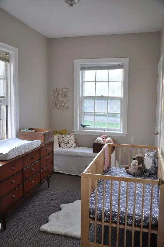 23 Practical And Stylish Tiny Nursery Dcor Ideas DigsDigs
